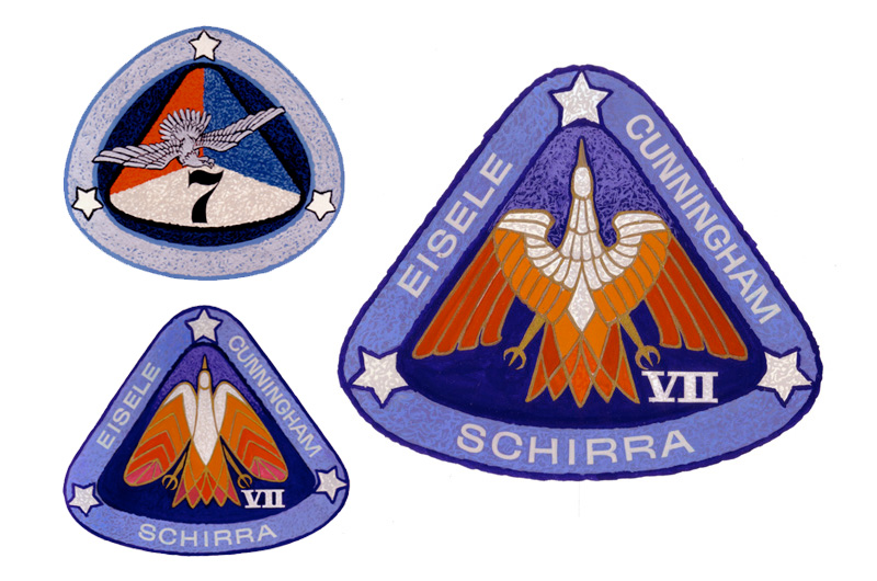 Alternate Apollo 7: Astronaut's anniversary patch recalls ...