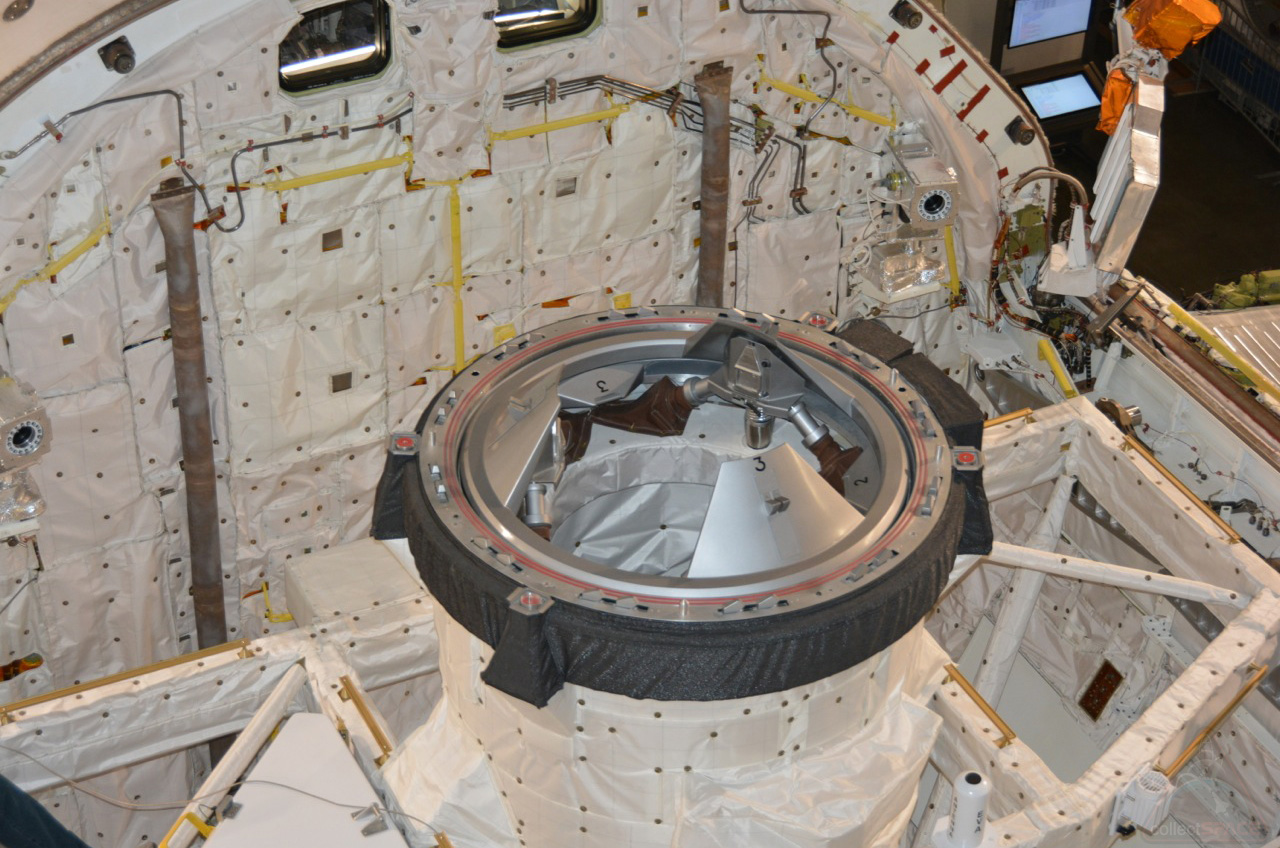 Space Shuttle Endeavour Doors Shut After Cargo Loaded For