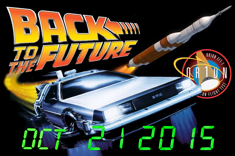 Flying Delorean Nasa Mission Launched Back To The Future Car Into