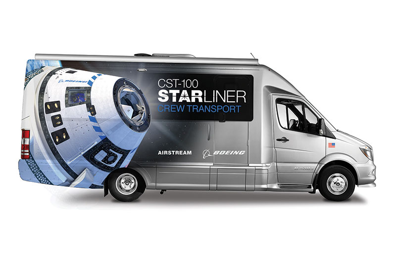 cheap running shoes fast color Astrovan II: Airstream builds new transport for Boeing ...
