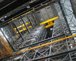 nasa vehicle assembly building interior - photo #41