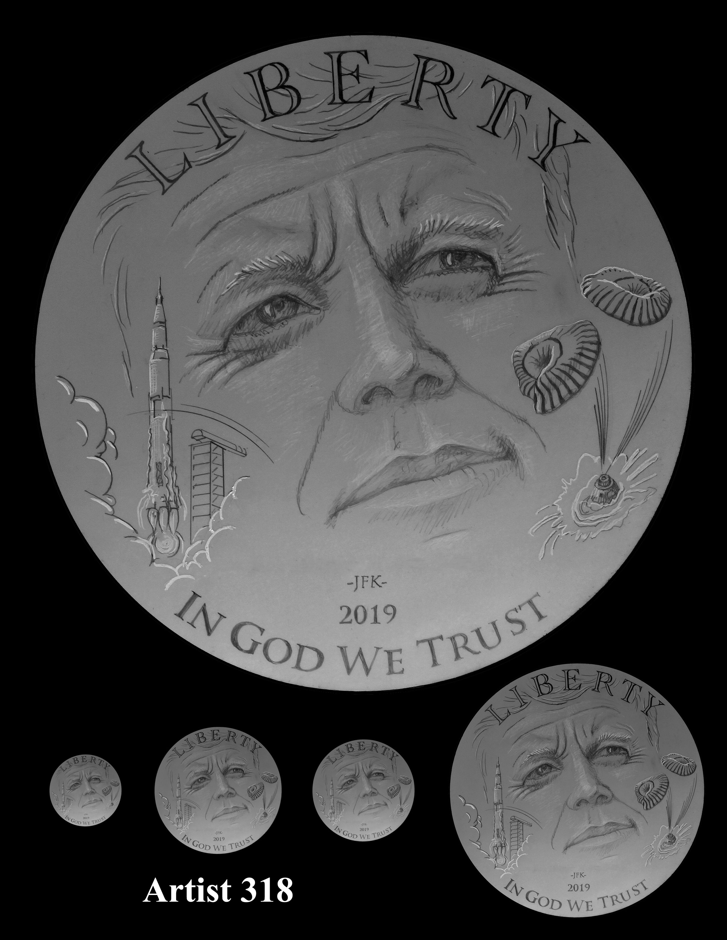 Us Mint Reveals Artists Designs For Heads Side Of