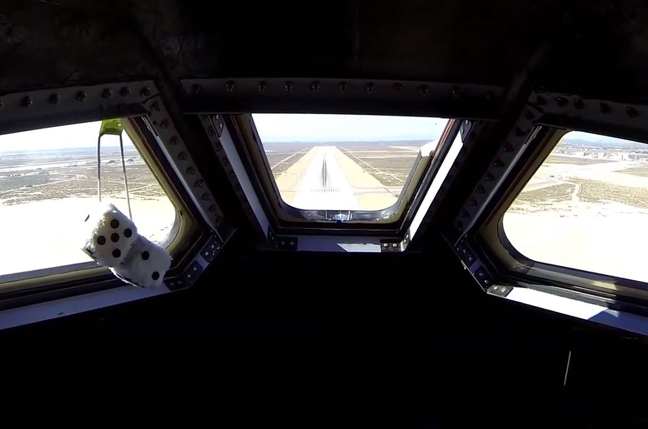 Dream Chaser Space Plane Soars Through First Drop Test