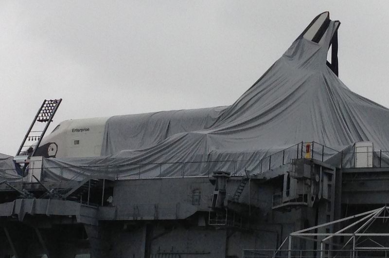 space shuttle enterprise damaged - photo #4