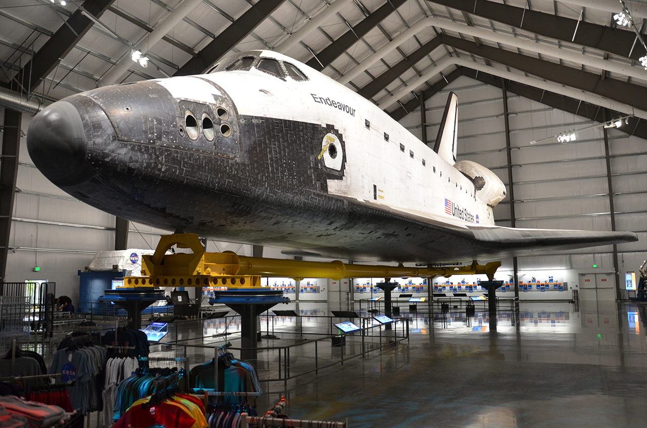 where is space shuttle endeavour - photo #37
