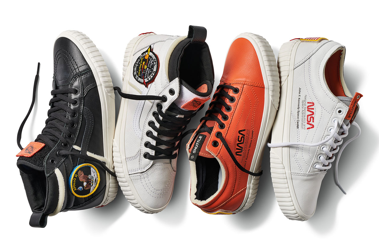 496a0ab762 Vans Space Voyager Collection commemorates NASA s 60 years of space  exploration and discovery. (Vans)