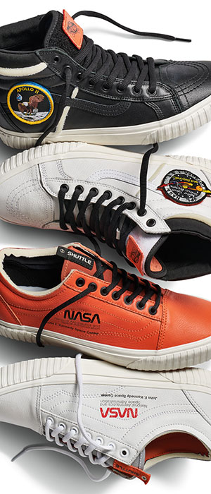 f268323e448 Vans celebrates 60 years of NASA history with  Space Voyager  sneakers
