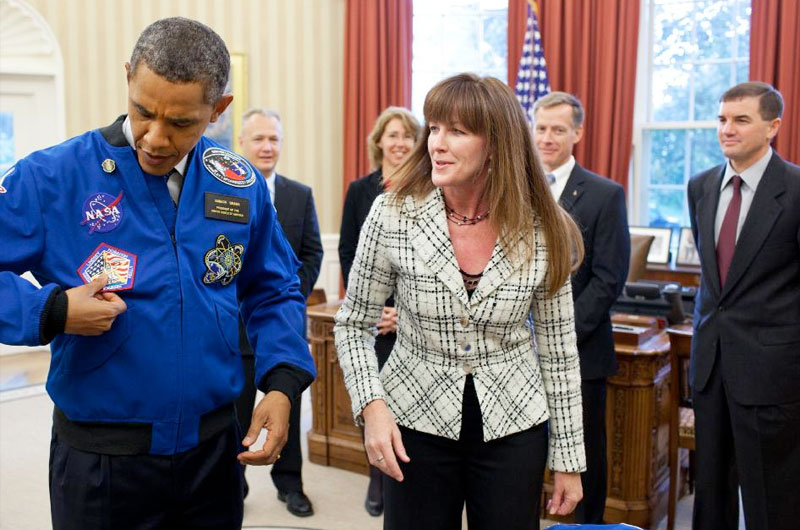 The President's new space clothes