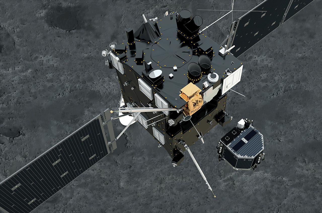 'Philae is on the comet!' ESA probe makes historic first ...