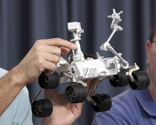 curiosity rover scale model - photo #43