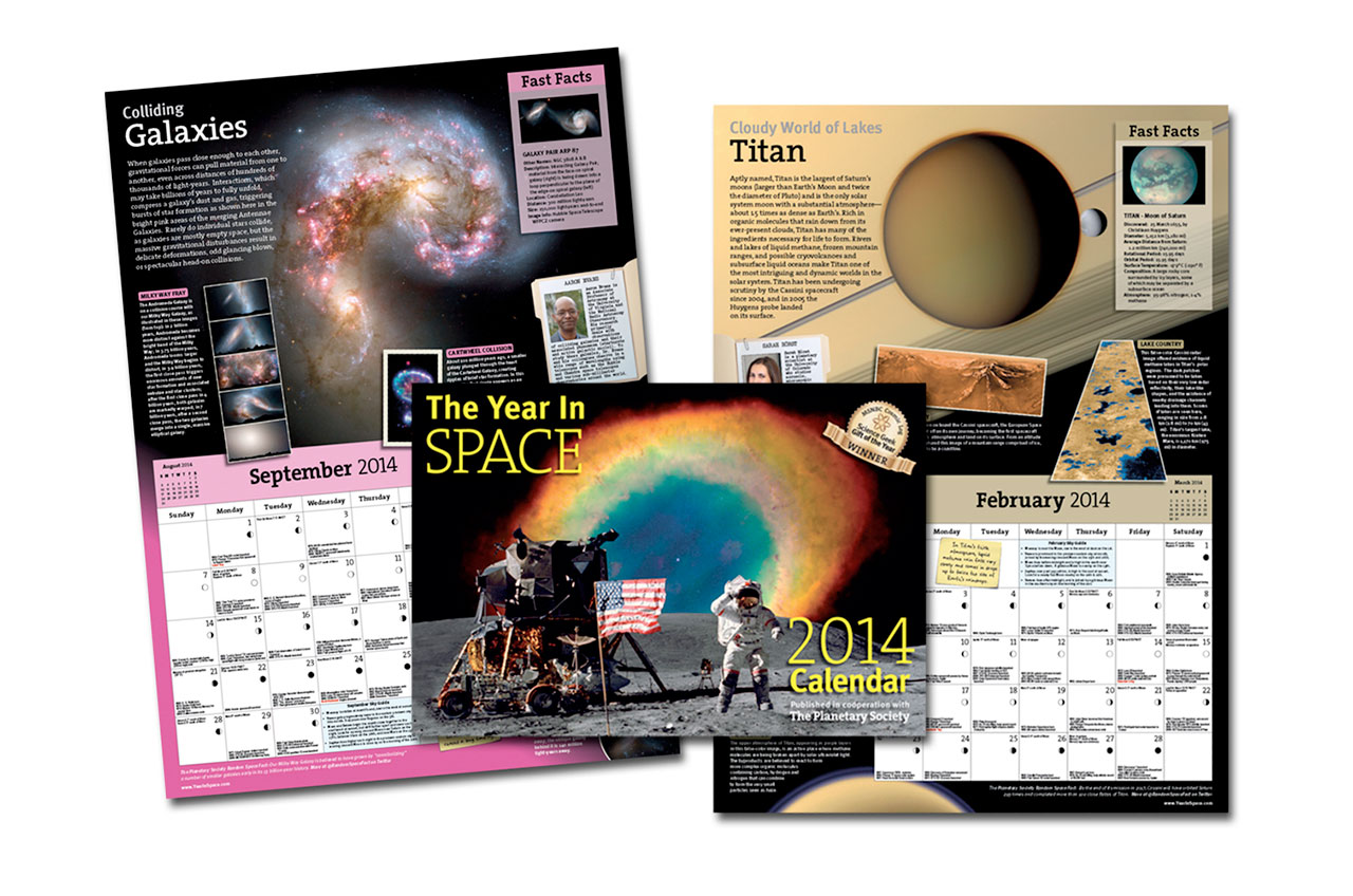 the year in space 2014 wall calendar yearinspacecom