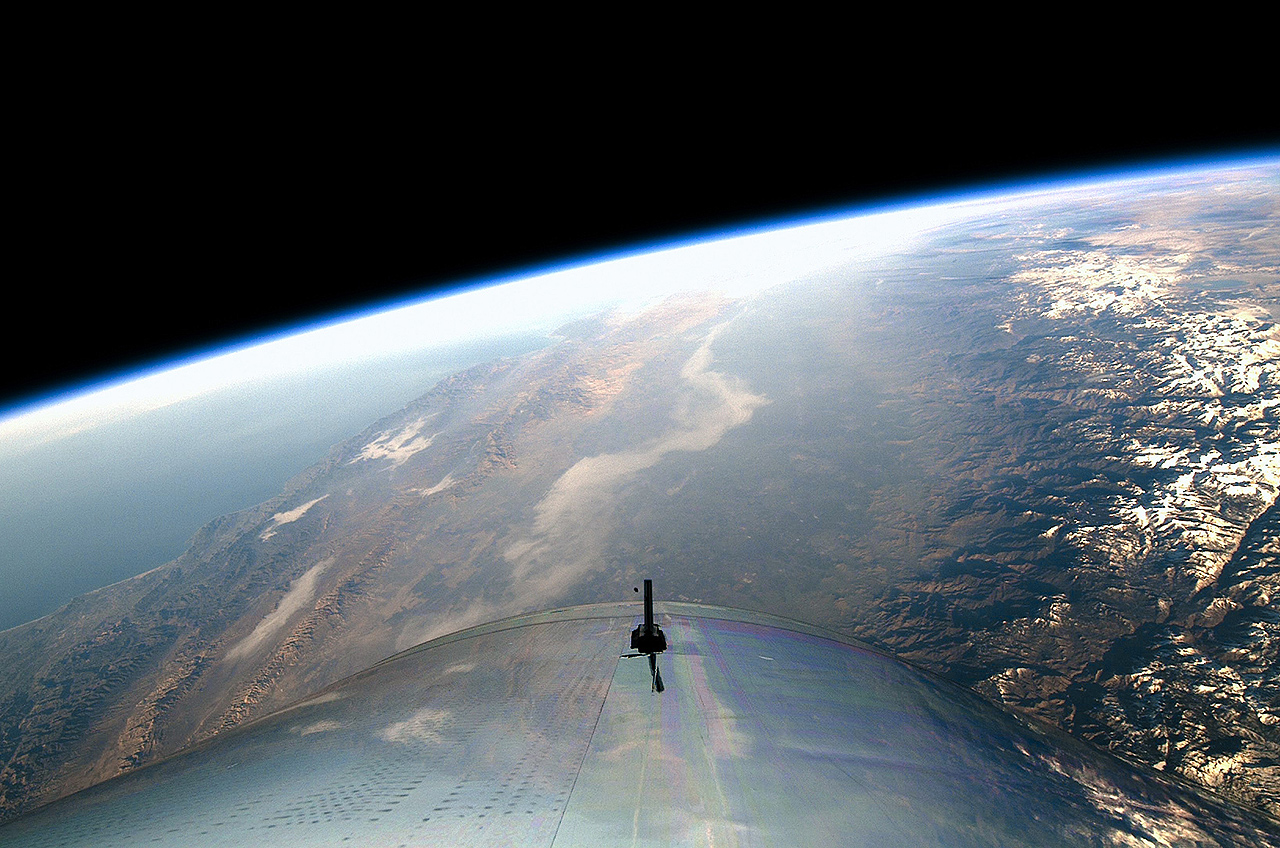Frederick Motor Company >> Virgin Galactic's SpaceShipTwo reaches (edge of) space for ...