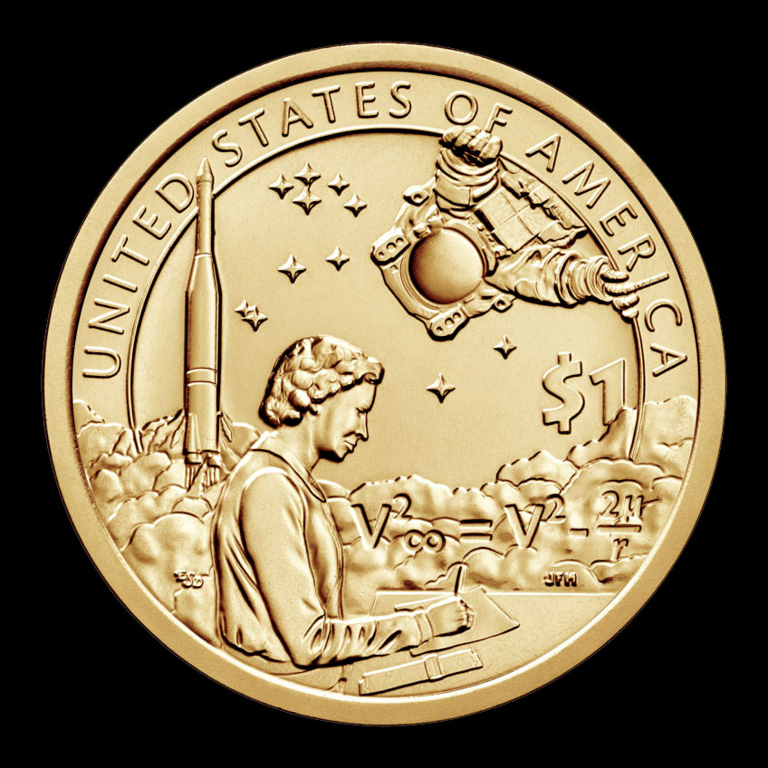 2019 S Sacagawea Proof One Dollar American Indians In the Space Program Coin $1