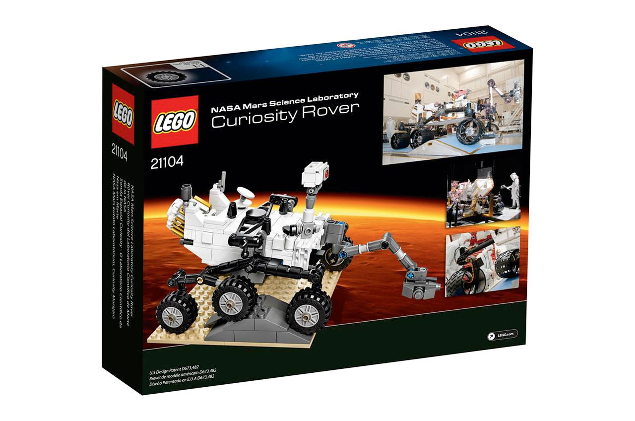 Lego Launches Mars Curiosity Rover Plus Five Toy Brick