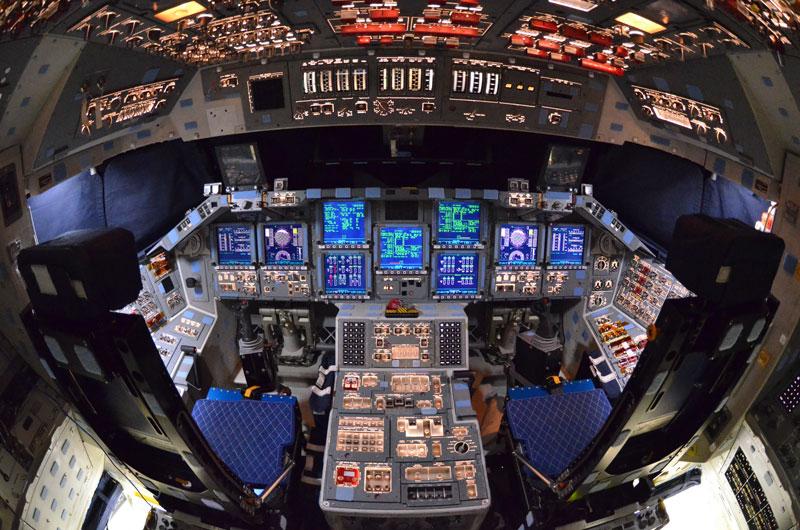 Rare, last look inside space shuttle Atlantis (photos ...