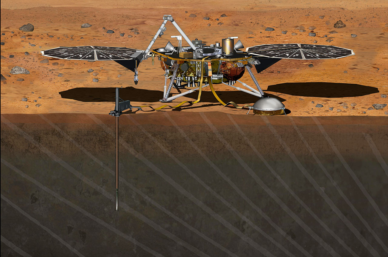 mars landing spacecraft - photo #8