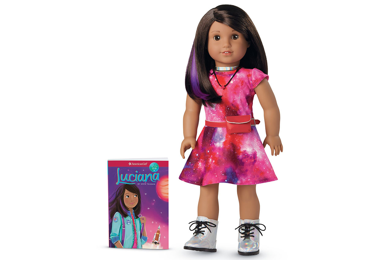 american girl 39 s new nasa advised doll is aspiring astronaut collectspace. Black Bedroom Furniture Sets. Home Design Ideas