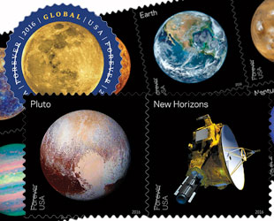 The Moon Planets And Pluto To Feature On New US Postage Stamps In 2016