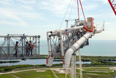 The Deconstruction Of Launch Pad 39b Collectspace Messages