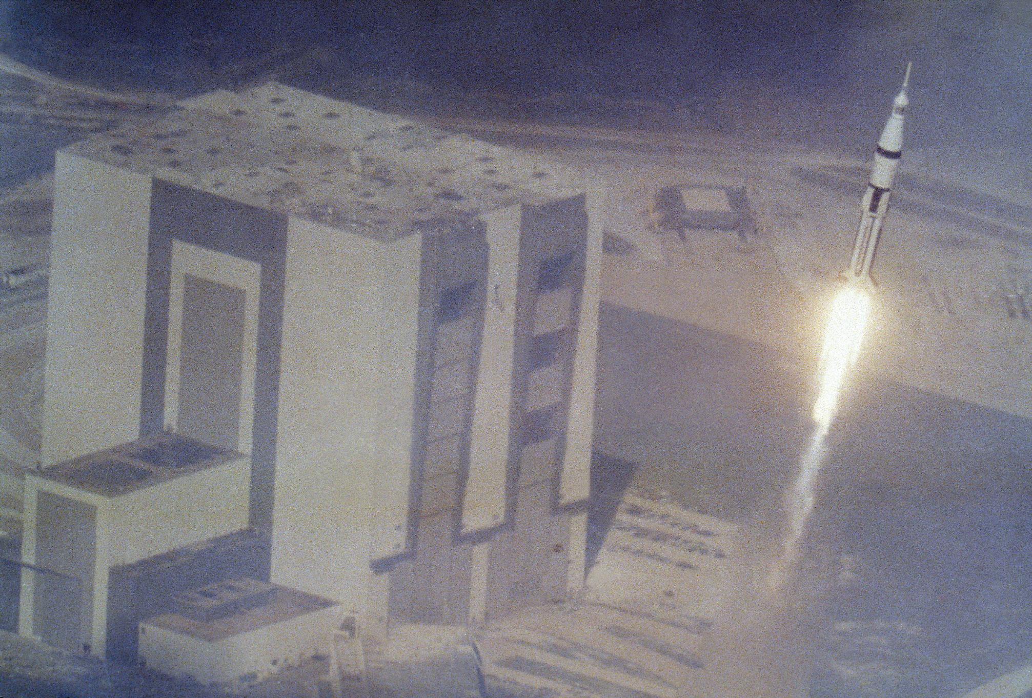 where did apollo 7 launch - photo #21