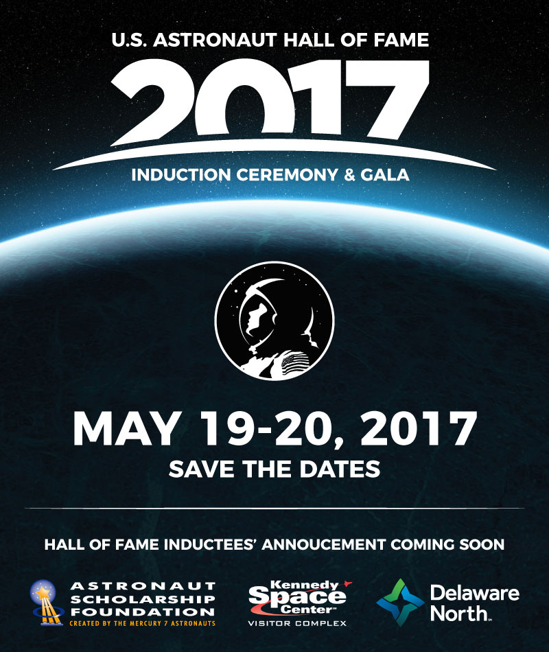 5/19-20: 2017 Astronaut Hall of Fame (FL) - collectSPACE ...