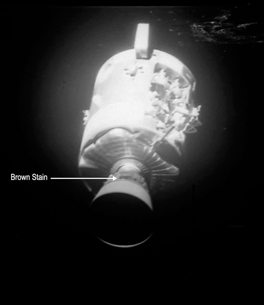 Apollo 13: Spacecraft damage detailed imagery ...