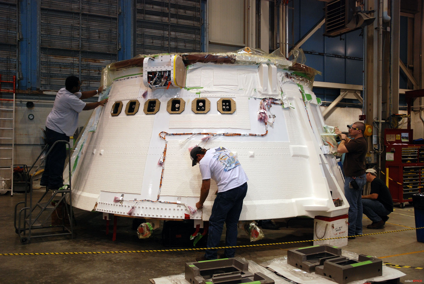 Ares I X Assembly Updates And Photographs Collectspace