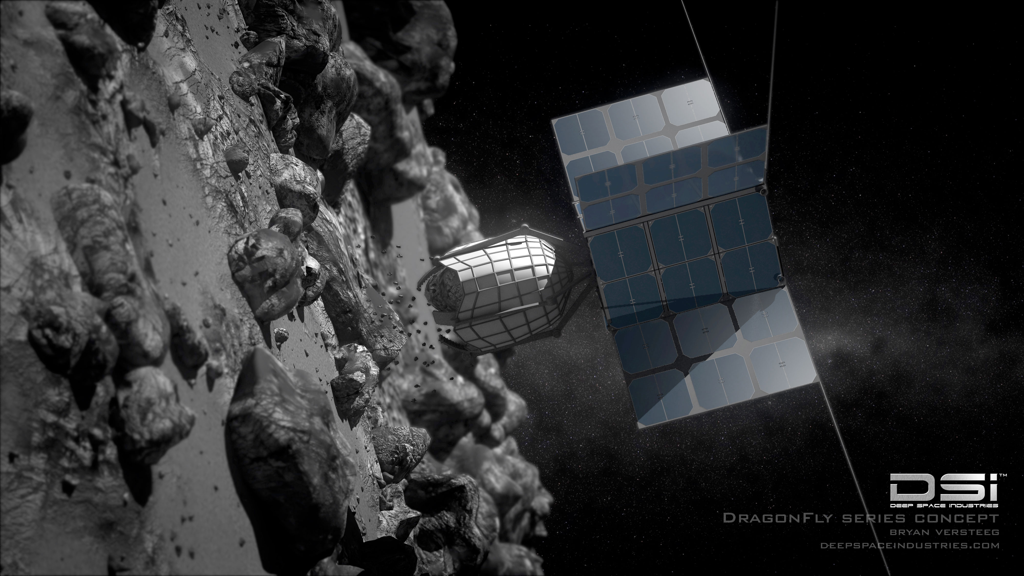 asteroid mining in space - photo #11