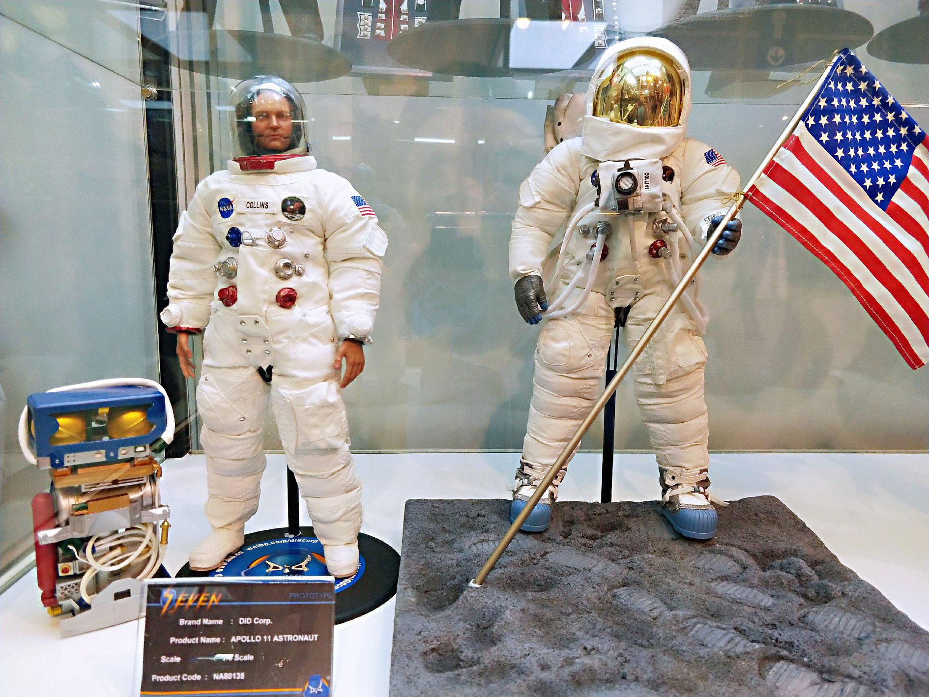 DID Apollo 11 Astronaut Neil Armstrong Inner Bubble Helmet loose 1//6th scale