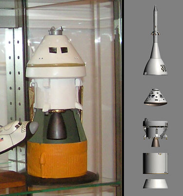 Orion Spacecraft Model Display - Pics about space