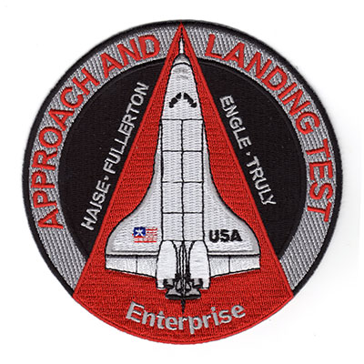 space shuttle enterprise patch - photo #45