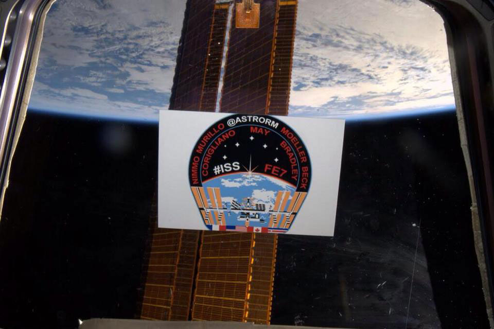Iss 38 39 Quot Ride With Rick Quot Issfe7 Emblem Collectspace