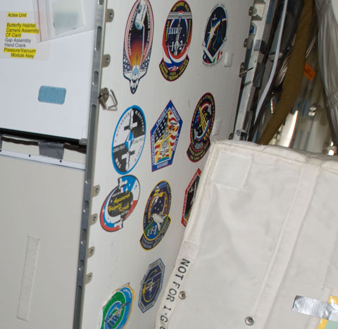 New patch panel installed in ISS Unity Node 1 - collectSPACE: Messages