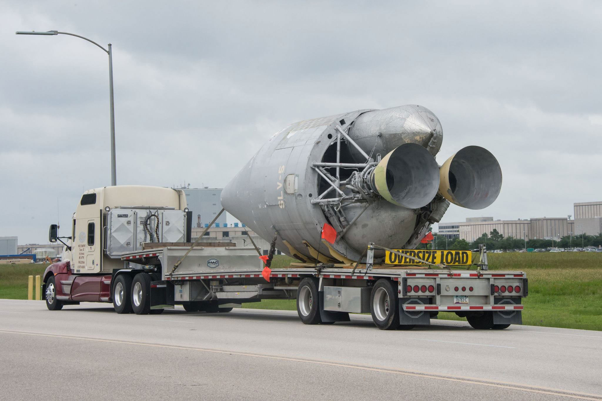 Titan Transtage Space Tug Salvaged For Study