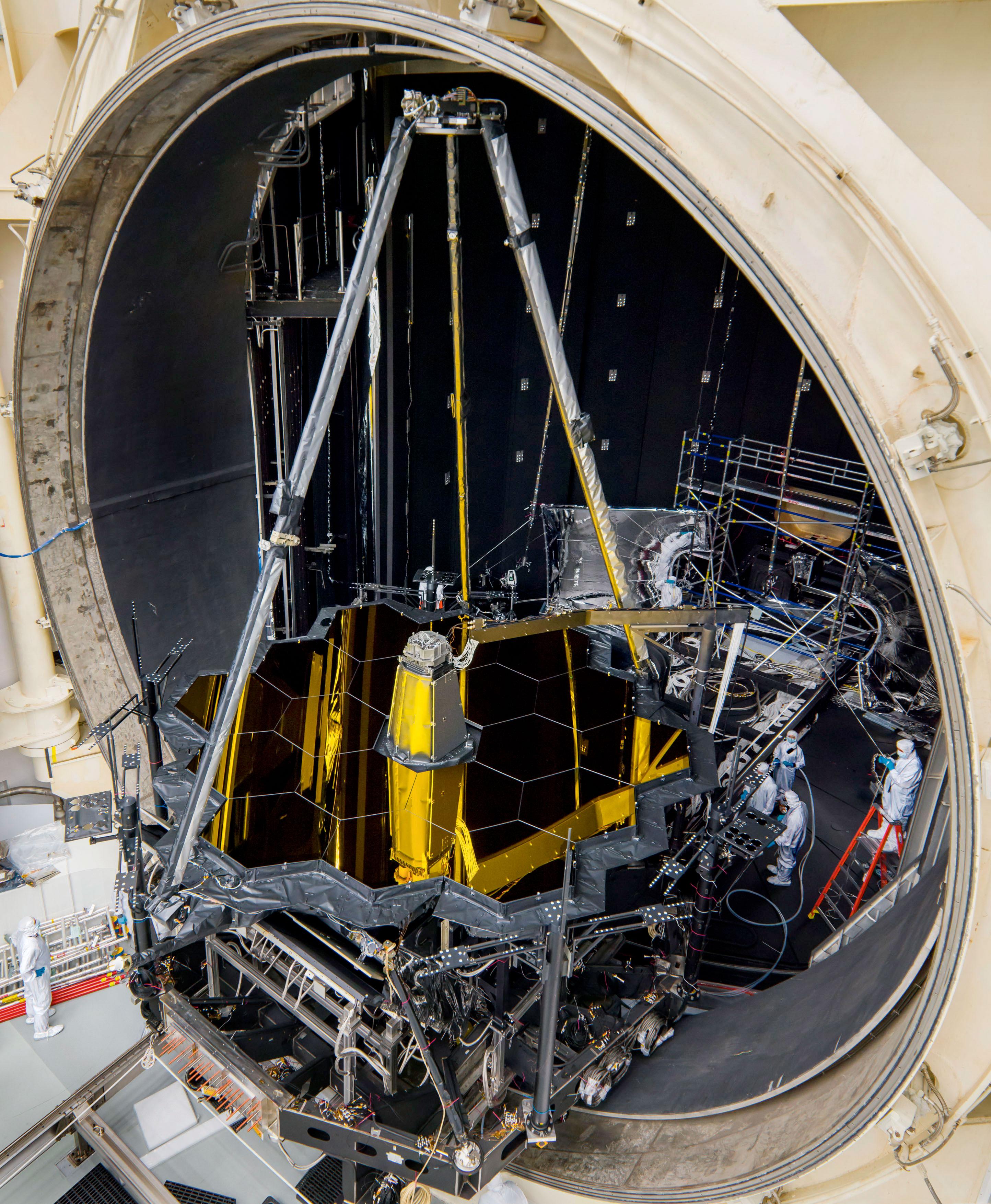 NASA James Webb Space Telescope (JWST) - collectSPACE ...