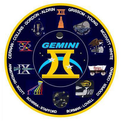 gemini space mission badges - photo #26