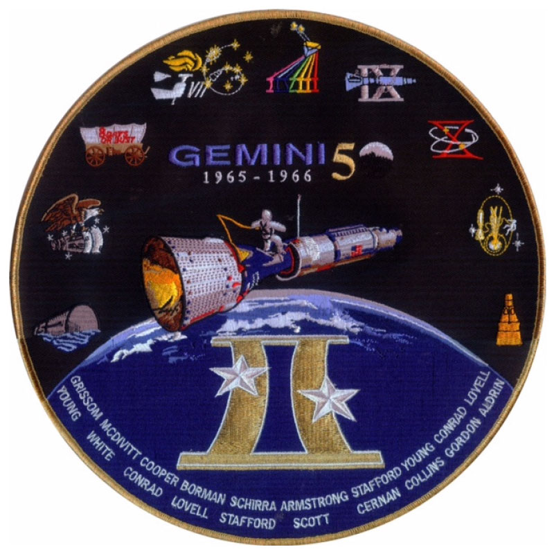 gemini space mission badges - photo #23