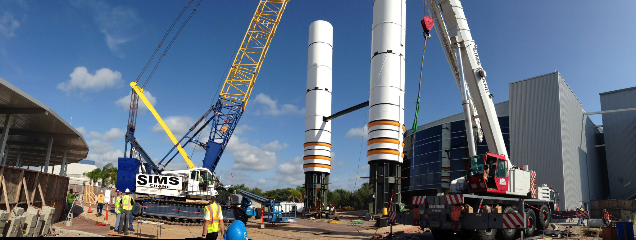 space shuttle solid rocket boster beams - photo #1
