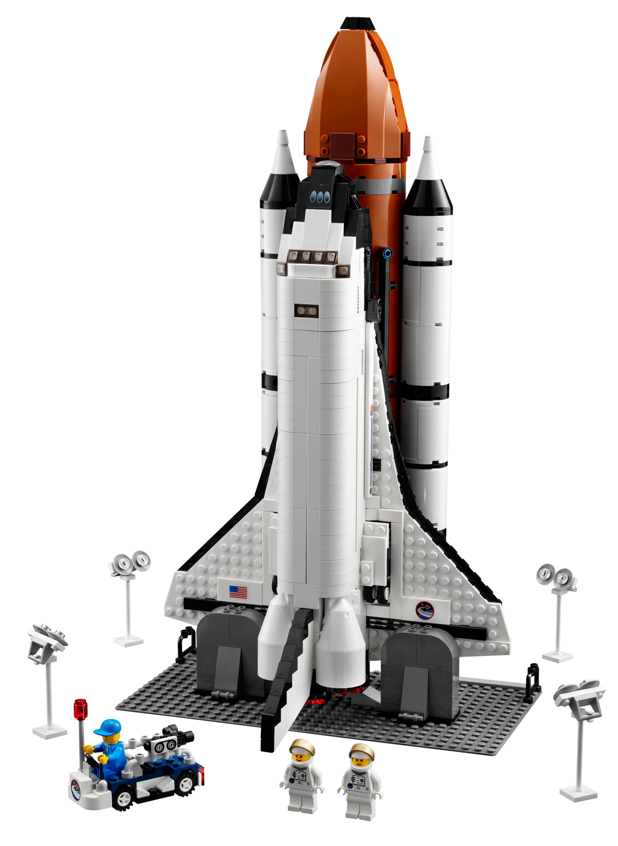 lego space shuttle a -#main