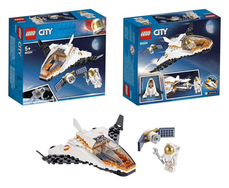 Lego City Mars Mission 2019 Apollo 50th Collectspace Messages