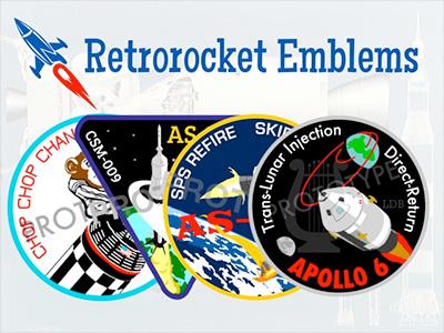 AS-201, AS-202, Apollo 6, HAM patch Kickstarter