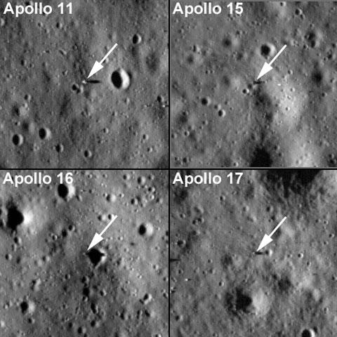 Resultado de imagem para foto apolo 11 e apollo 15