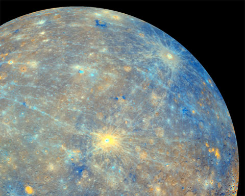 Real Mercury Planet Color
