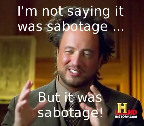 Image result for sabotage meme