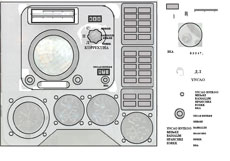 Making a Vostok-Voskhod navigation panel: tracing upon an existing photo