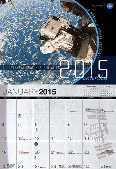 NASA's International Space Station calendar - collectSPACE ...