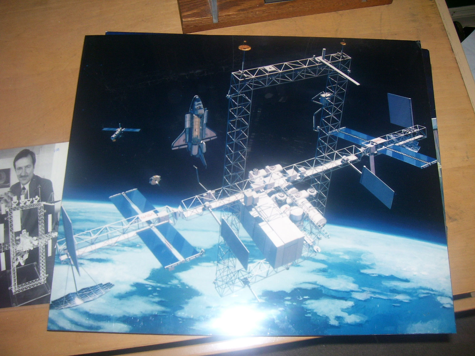FS: Space Station Freedom contractor model - collectSPACE ...