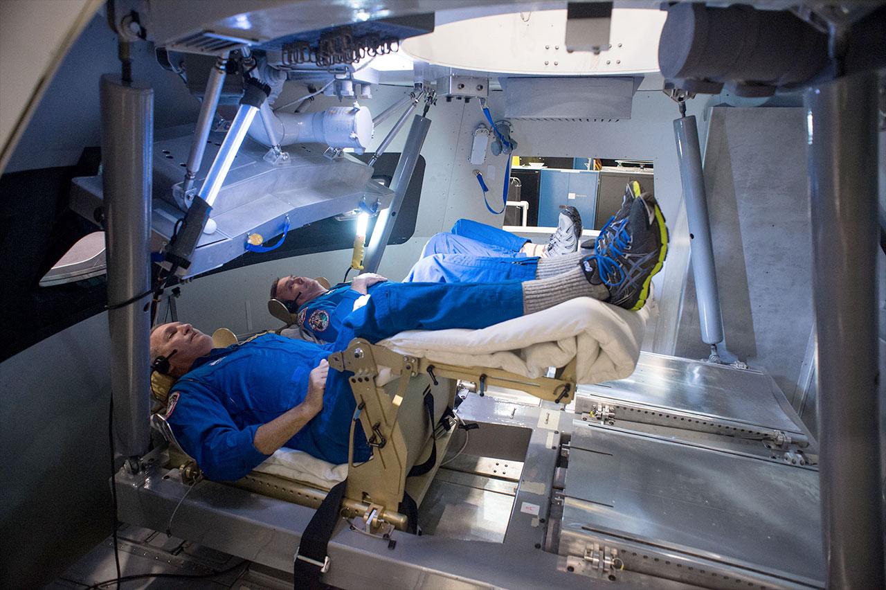 Orion spacecraft simulators and astronaut training ...