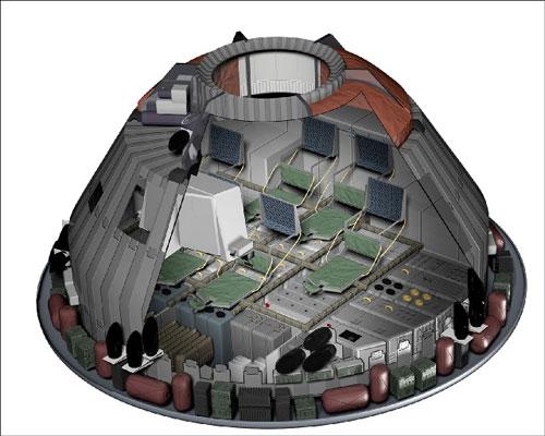 orion spacecraft cockpit - photo #30