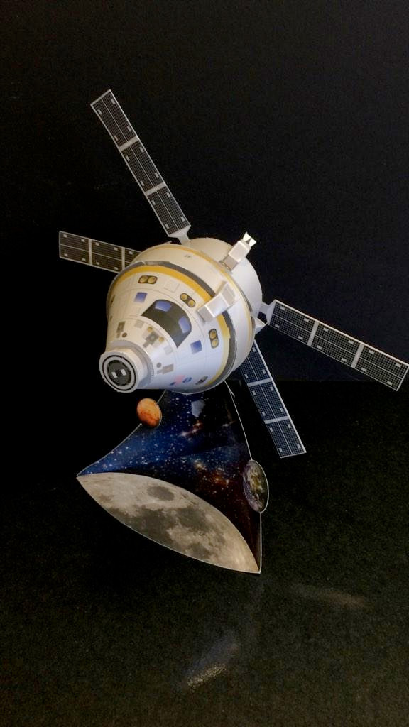 Lockheed Martin Orion spacecraft paper models ...